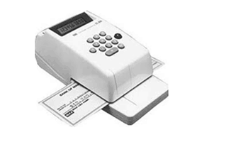 Cheque Writer Machine Max – EC-30A
