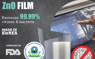ANTI-MICROBIAL ZnO FILM